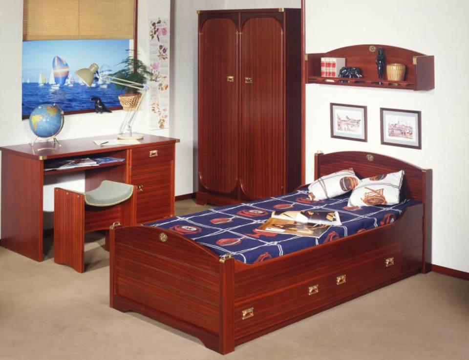 L'une de nos célèbres chambres au thème marin qui invitent aux voyages et aux rêves